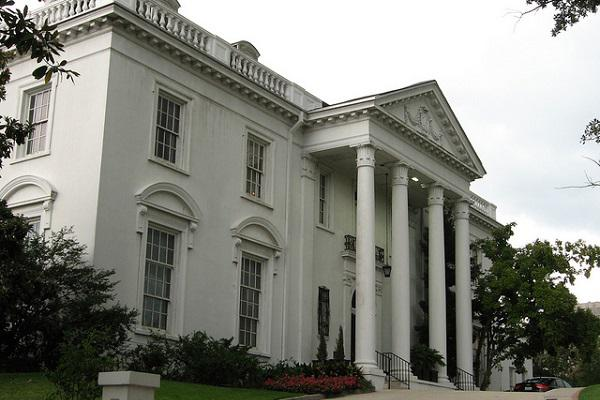 The Governor's Mansion in Baton Rouge