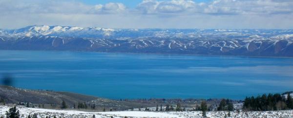 黄石公园的湖泊