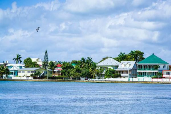 Belize City is a port city in the Central American country of Belize.