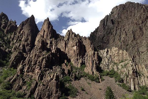 Black Canyon of Gunnison National Park, near Montrose in Colorado