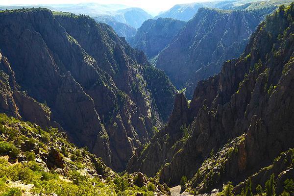 Black Canyon of the Gunnison National Park, near Montrose, Colorado