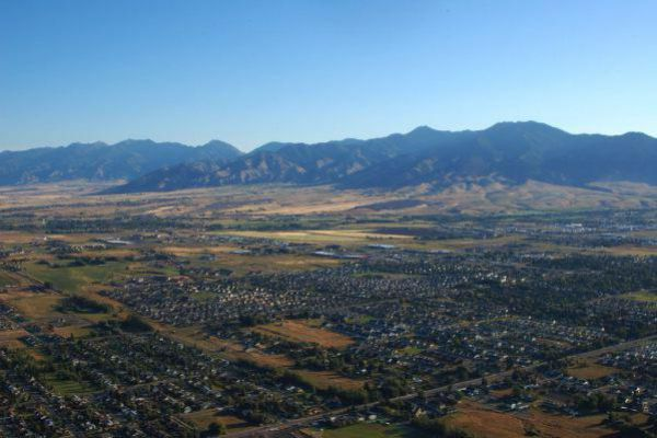 Get a glimpse of beautiful Bozeman in the state of Montana.