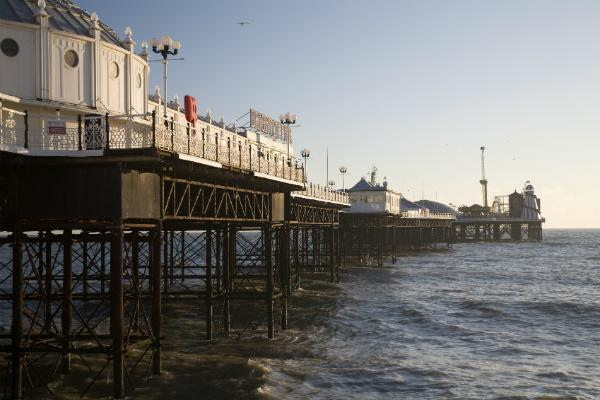 Brighton Pier provides fun for the family
