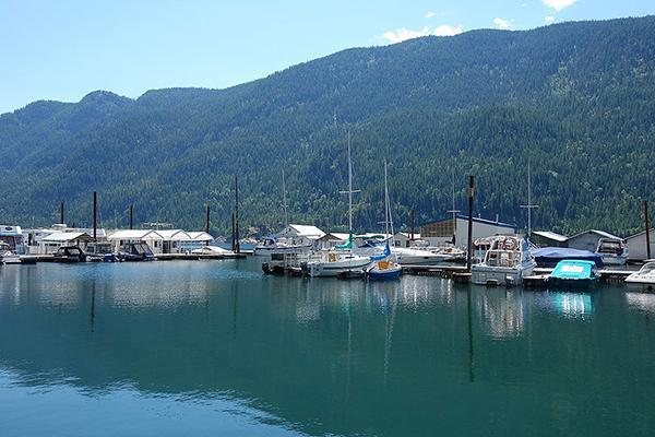 Scotties Marina, near Castlegar, British Columbia, Canada