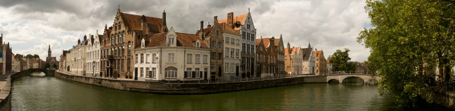 Visit the Canals of Bruges on your Belgium motorhome road trip