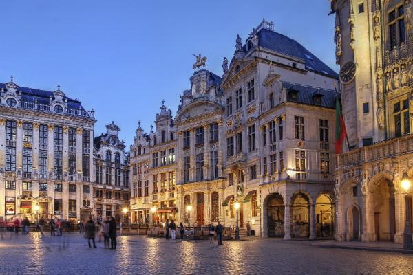 The Grand Place is wonderful to wander in