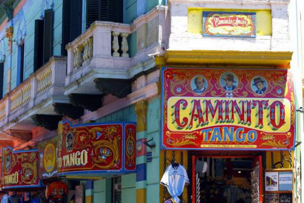 Caminito is a street museum and a traditional alley located in a neighborhood of Buenos Aires.