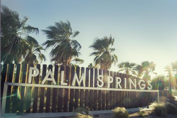 Palm Springs is a desert oasis