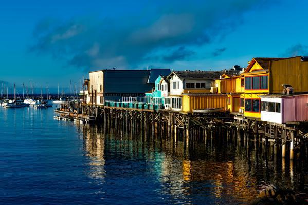 Monterey is a city on California's rugged central coast.