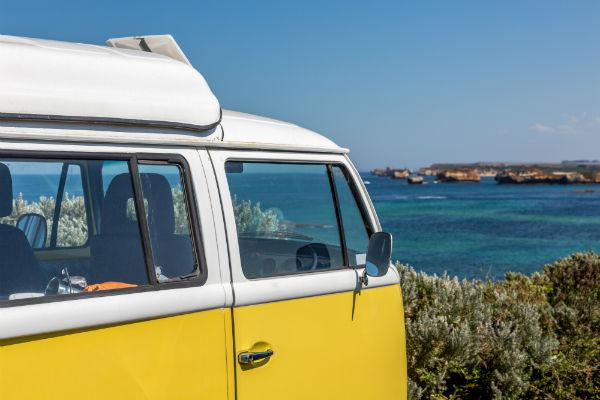 You'll be out on the water and surfing the waves in no time thanks to a campervan.