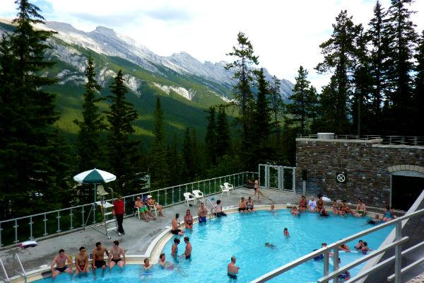 Regardless of whether you visit the hot springs, a visit to Banff National Park is an absolute must.