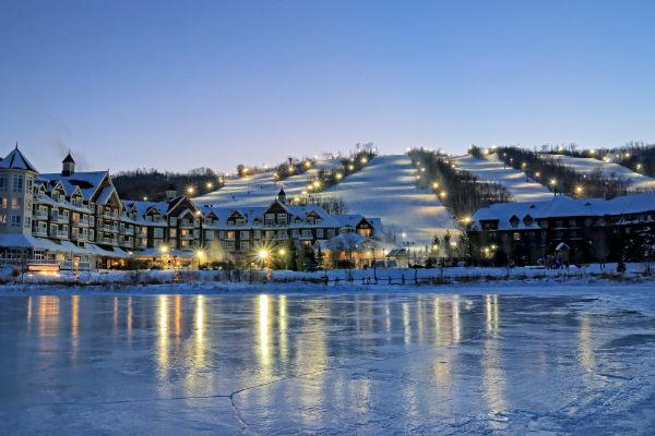 Skiers and snowboarders will find themselves in heaven with a trip to Blue Mountain.