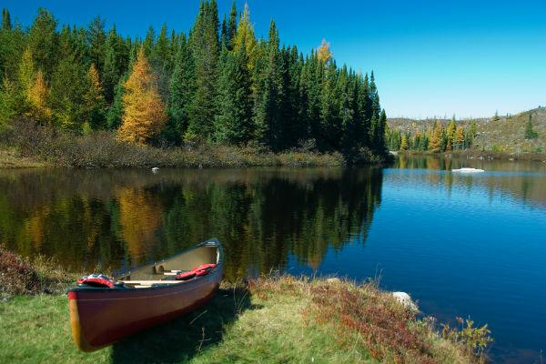 If you can make room for a canoe in (or on top) of your motorhome, it could certainly enhance your Grands-Jardins National Park experience.