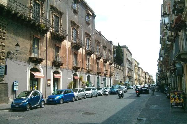Driving on the streets of Catania is relatively straightforward - just remember not to drivin with the historic district.
