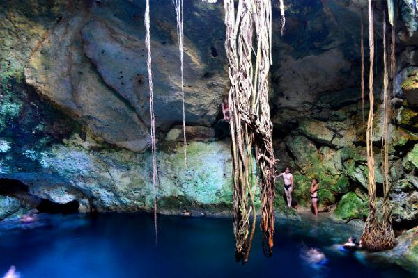 Cuzama will introduce you to three different cenotes.