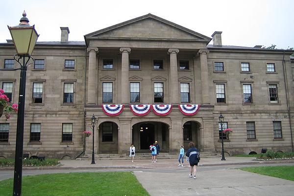 Province House in Charlottetown, Prince Edward Island, Canada