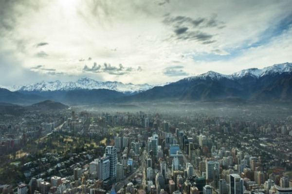 Santiago is the cultural heart of Chile