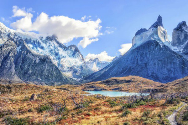 Torres del Paine National Park awes with its sheer scale