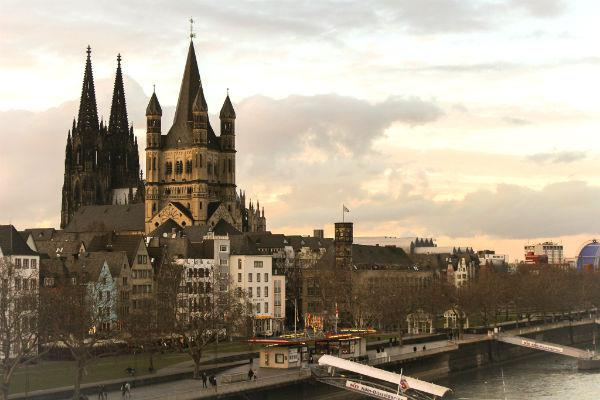 Cologne is famous for its gothic architecture.
