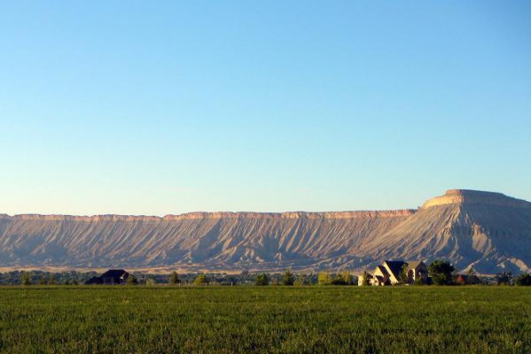 Mount Garfield near Grand Junction.