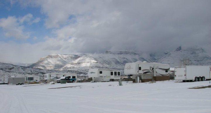 Winter RV park