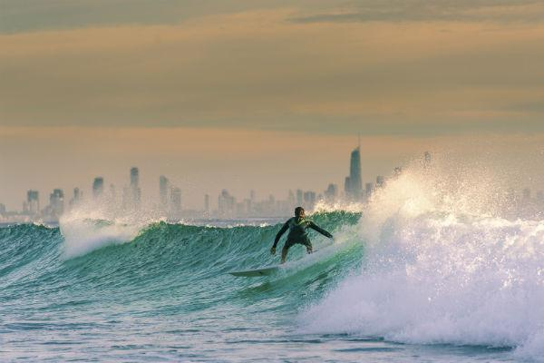 Cool off in Coolangatta with an afternoon amongst the waves.