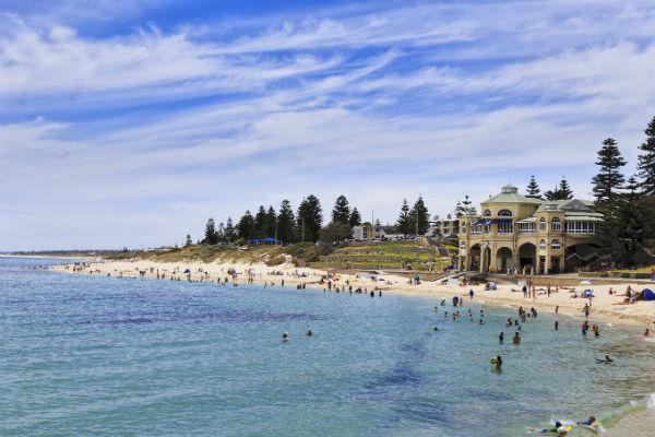 On a fine day, Cottesloe Beach is one of the best places in Perth to be.
