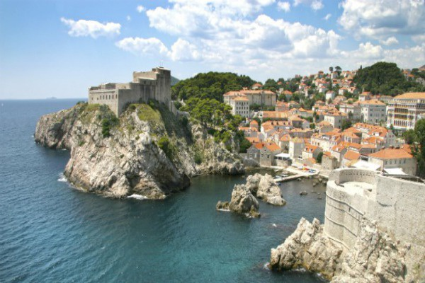 Dubrovnik is one of Croatia's leading attractions thanks to its well preserved medieval buildings.