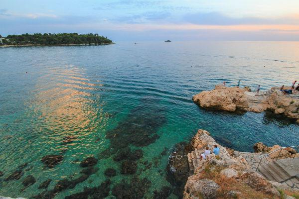 Rovinj is a quaint picturesque city, perfect for exploration on foot but it also has a wide range of beaches, each with their own appeal.