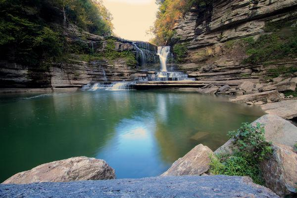 Embark on an adventure to reach Cummins Falls and be well rewarded with a cool dip at the end.
