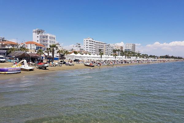 Larnaca is a buzzing seaside resort city