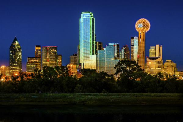 The bright lights of Dallas