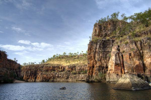 A trip down to Katherine Gorge on a sunny day is one of the best ways to beat the heat on a journey out of Darwin.