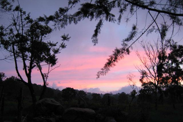 Keep your eye out for gorgeous sunsets in Chiriqui.