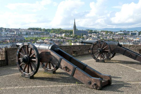 The historic walls of Derry are one of the city's most popular attractions, and are definitely worth spending at least an afternoon on.