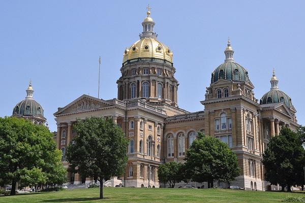 The Iowa State Capitol