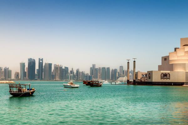 Doha is equal parts natural and manmade beauty