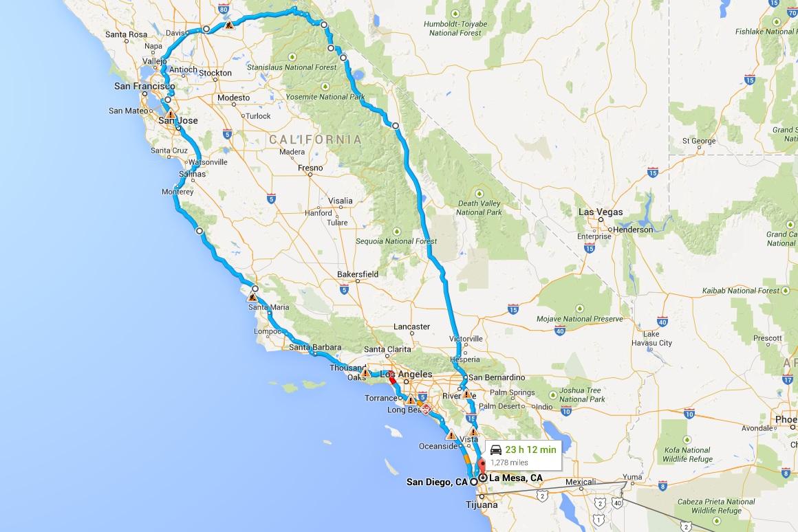 Aluguel de carro San Diego