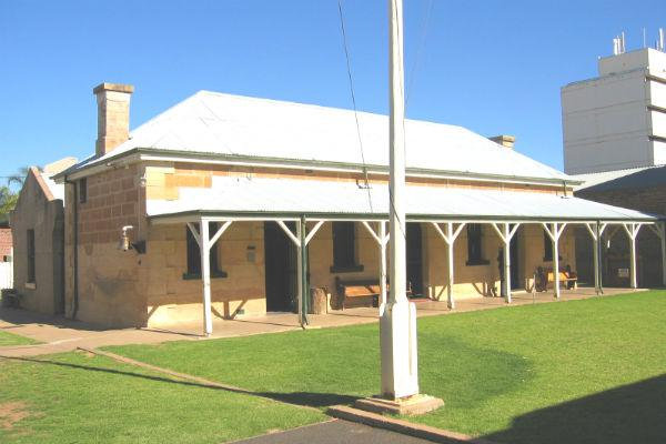 The Old Gaol in Dubbo is one of the town's most popular historic attractions.
