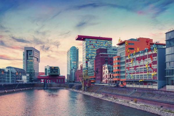 Far from being the dour city you might expect from a major financial centre, even the architecture in Dusseldorf revels in a sense of play.