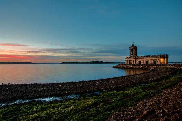 Leicester has all kinds of historic attractions including Normanton Church, set on the banks of the Rutland Water.