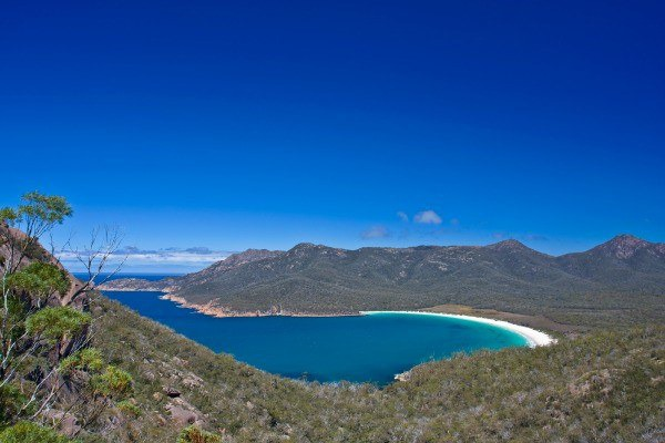 Wineglass Bay in TAS
