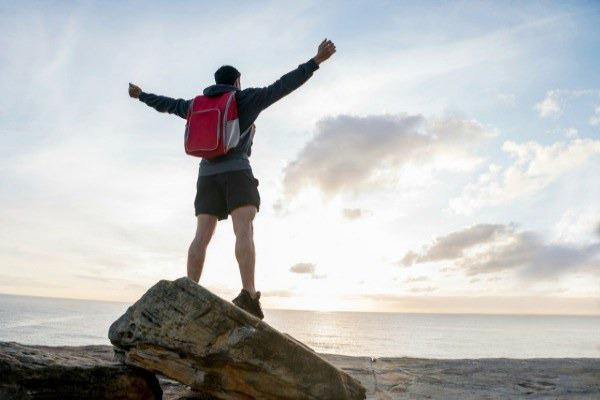Hiker in Australia