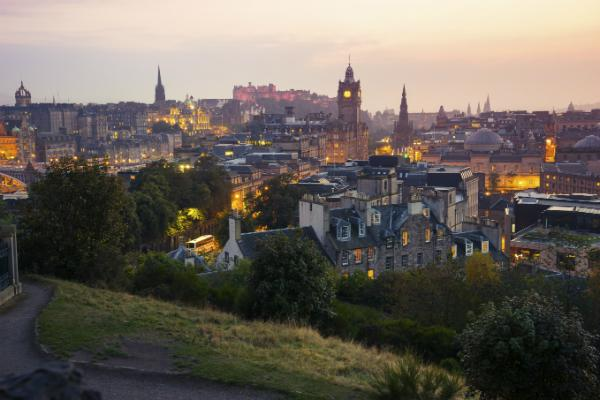 Edinburgh is a city of history and Scottish urban delights