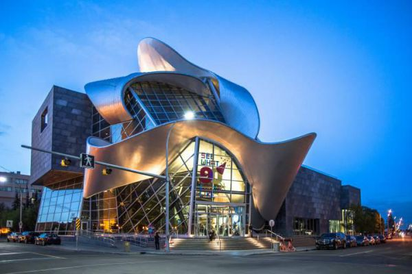 The glamourous Art Gallery of Alberta in Edmonton.