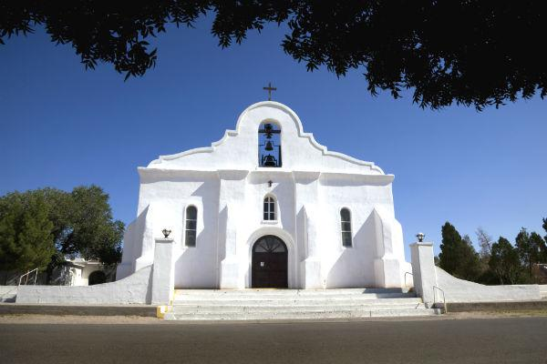 Check out El Paso's historic mission while you're in town.