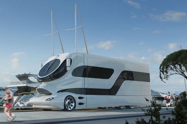 More mansion than motorhome, the eleMMent Palazzo is the king of RVs.
