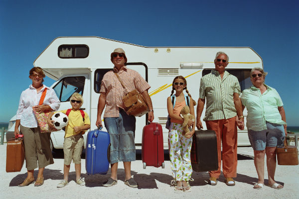 Try not to bring to much luggage on your next motorhome rental holiday.