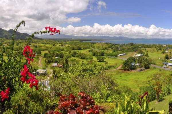 There are plenty of beautiful vistas within easy reach of Nadi International Airport.