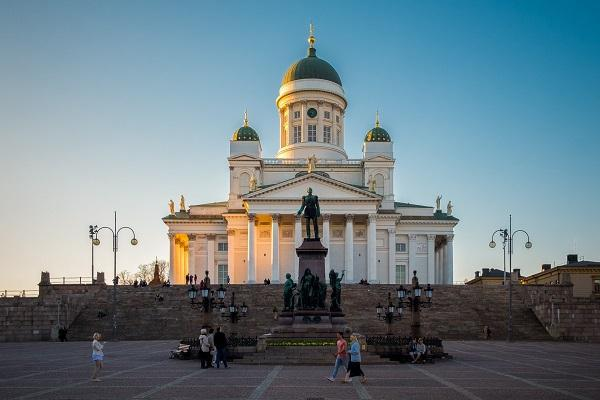 Helsinki's cathedral is a stunner